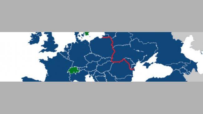 PRRSV diversity in Europe
